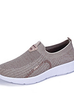 cheap -Men's Summer / Fall Casual / Preppy Daily Outdoor Loafers & Slip-Ons Faux Leather Non-slipping Wear Proof Camel / Black / Gray
