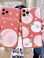 cheap -Case For Apple iPhone 7 iPhone 7P iPhone 8 iPhone 8P iPhone X iPhone iPhone XS iPhone XR iPhone XS max iPhone 11 iPhone 11 Pro iPhone 11 Pro Max iPhoneSE (2020) Pattern Back Cover Food TPU