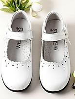 cheap -Girls' Flats Comfort PU Big Kids(7years +) White / Black Summer