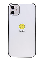 cheap -Case For Apple iPhone 7 8 7 Plus 8 Plus X XS XR XS Max 11 11 Pro 11 Pro Max Pattern Back Cover Word Phrase Solid Colored TPU Tempered Glass