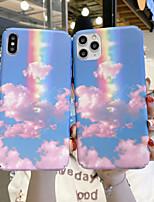cheap -Case For APPLE  iPhone 6 7 8 6plus 7plus 8plus  XR XS XSMAX  X SE  11  11Pro   11ProMax Pattern Cloud Back Cover Color Gradient pc