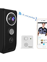 cheap -Vstarcam 720P Video Doorbell Camera WiFi Visual Doorbell Call Intercom Infrared Night Vision Door Bell Security Monitoring