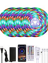 cheap -MASHANG 20M LED Strip Lights Waterproof RGB LED Light Music Sync 1200LEDs LED Strip 2835 SMD Color Changing LED Strip Light Bluetooth Controller and 40 Keys Remote LED Lights for Bedroom Home Party