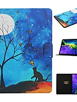 cheap -Case For Apple iPad 10.2 iPad Pro 11 2020 iPad Air 10.5 2019 Card Holder with Stand Pattern Full Body Cases Cat PU Leather iPad Mini 12345 2017 2018