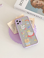 cheap -Case For Apple iPhone 7 iPhone 7P iPhone 8 iPhone 8P iPhone X iPhone iPhone XS iPhone XR iPhone XS max iPhone 11 iPhone 11 Pro iPhone 11 Pro Max Pattern Back Cover Cartoon TPU