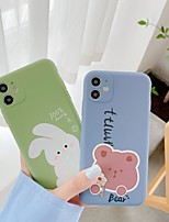 cheap -Case For Apple iPhone 7 iPhone 7P iPhone 8 iPhone 8P iPhone X iPhone iPhone XS iPhone XR iPhone XS max iPhone 11 iPhone 11 Pro iPhone 11 Pro Max Pattern Back Cover Animal Cartoon TPU