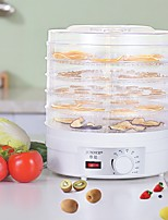cheap -Electric Food Dehydrator Machine Multi-Tier Kitchen Food Appliances Meat or Beef Jerky Maker Fruits and Vegetable Dryer with 5 Stackable Trays High-Heat Circulations 9L