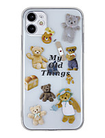 cheap -Case For Apple iPhone 7 8 7plus 8plus x xs xr xsmax 11 11pro 11promax Pattern Back Cover Word Phrase Animal Cartoon TPU
