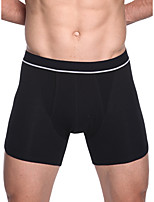 cheap -Men's Basic Boxers Underwear - Normal Mid Waist White Black M L XL