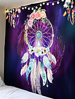 cheap -Garland feather tapestries bohemian wall hangings bedroom decoration blankets mandalas