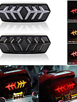 cheap -1pcs  Motorcycle Turn Signal Light DRL Motorbike Led Indicator Tail Rear Light Daytime Running Light Flowing Light Brake Light 12V