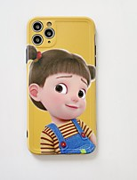 cheap -Case For APPLE iPhone 7 8 7plus 8plus XR XS XSMAX X SE 11 11Pro 11ProMax  Pattern Back Cover TPU cute girl