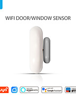 cheap -Smart WiFi Door Sensor Door Open / Closed Detectors Compatible With Alexa Google Home IFTTT