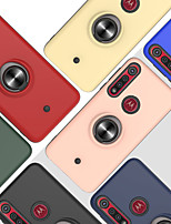 cheap -Case For Motorola Moto G8 Plus  Moto One Macro  G8 Play Shockproof  Ring Holder Back Cover Solid Colored TPU  PC  Metal