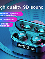 cheap -LITBest F9-6A True Wireless Headphones Bluetooth 5.0 Earbuds with LED Power Display Mini Magnetic Charging Box Touch Control Earphones for Android iOS PC Sports Fitness Cycling