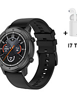 cheap -DT89 Smart Watch Full Circle HD  Sport Watch Men ECG Heart Rate Blood Pressure Smartwatch Women Menstrual Monitor WIth i7s Tws Wireless Headphones Bluetooth Earphones