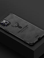 cheap -iPhone11Pro Max Anti-fall Skinny elk Mobile Phone Case XS Max Four Corner Anti-fall TPU Soft Shell 6 7 8Plus SE 2020 Protective Case