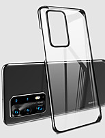 cheap -Case For Huawei Huawei V30  Huawei V30 Pro  Nova 6 5G Shockproof  Transparent Back Cover Transparent PC