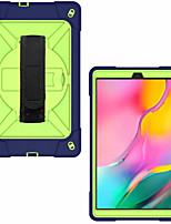 cheap -Case For Samsung Galaxy Samsung Tab A 10.1(2019)T510 Samsung Tab A 10.1(2019)T515 Samsung Tab A 8.0(2019)T290/295 Shockproof Back Cover Solid Colored Plastic Silica Gel