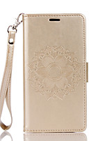 cheap -Case for Wiko Wiko Lenny 3 4  Card Holder Magnetic Full Body Cases Flower PU Leather