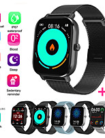 cheap -JSBP PDT35 Men Women Smartwatch for Apple/ Samsung/ Android PhonesBluetooth Fitness Tracker Support Heart Rate Monitor Blood Pressure Measurement