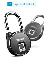cheap -2020 New Home Large Capacity Charging Smart Fingerprint Padlock Anti-theft Lock Supports 30 Fingerprints