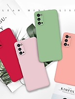 cheap -Case For Samsung Galaxy S20 Ultra A40s M30 Ultra-thin Back Cover Solid Colored Grind Arenaceous TPU Case For Samsung Galaxy M20 M10 A10e A20e A80 A90 A2 Core A60 A70s A50s A30s A7(2018) J8(2018) S9