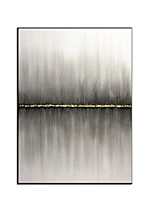 cheap -Oil Painting Hand Painted Abstract Abstract Landscape Comtemporary Modern Rolled Canvas Rolled Without Frame