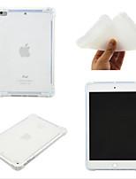 cheap -Case For Apple iPad Mini 3 2 1  iPad Mini 4  iPad Mini 5 360 Rotation  Shockproof Back Cover Transparent  Solid Colored TPU