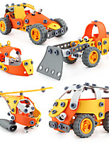 cheap -Model Building Kit Construction Truck Toys Creative Race Car Excavator DIY Parent-Child Interaction Plastic Mini Car Vehicles Toys for Party Favor or Kids Birthday Gift 148 pcs / Kid's