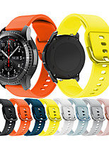 cheap -Watch Band for Samsung Gear S3 Sport silicone Smart Wristbands for Samsung Gear S3 Frontier / Gear S3 Classic / Gear S3 Classic LTE