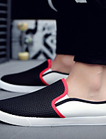cheap -Men's Summer / Fall Casual Daily Loafers & Slip-Ons Fitness & Cross Training Shoes / Walking Shoes Mesh Breathable Wear Proof Black / Beige / Dark Blue