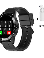 cheap -AW1 Full Screen Touch Bluetooth Phone Call Play Music Smart Watch Blood Pressure oxygen Heart Rate Monitor Smartwatch