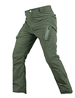 cheap -Men's Hiking Pants Tactical Pants Outdoor Standard Fit Breathable Quick Dry Soft Nylon Pants / Trousers Bottoms Black Army Green Khaki Hunting Fishing Climbing S M L XL XXL