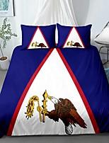 cheap -Home Textiles 3D Bedding Set  Duvet Cover with Pillowcase 2/3pcs Bedroom Duvet Cover Sets  Bedding eagle