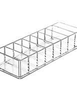 cheap -Transparent Acrylic Storage Box Cosmetic Organizer Lipstick Powder Blush Storage Rack Cosmetic Storage Box Display Stand Tool