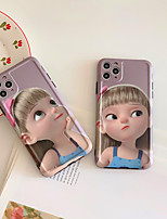 cheap -Case For Apple iPhone 7 iPhone 7P iPhone 8 iPhone 8P iPhone X iPhone iPhone XS iPhone XR iPhone XS max iPhone 11 iPhone 11 Pro iPhone 11 Pro Maxx Pattern Back Cover Sexy Lady Cartoon TPU