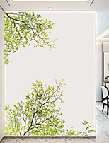 cheap -Green Tree Wall Stickers Decorative Wall Stickers, PVC Home Decoration Wall Decal Wall Decoration / Removable