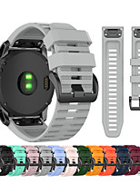 cheap -Quick Release Easyfit Wrist Strap Watch Band for Garmin Fenix 6 Pro / Fenix 5 Plus / Fenix 3 HR Sapphire / Fenix 6X Pro / Fenix 5X Plus / Forerunner 935 / 945 / Approach S60 / S50 Bracelet Wristband