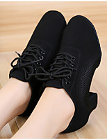 cheap -Women's Dance Shoes Latin Shoes Heel Cuban Heel Black / Performance / Leather