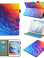 cheap -Case For Apple  iPad Pro 10.5  Ipad air3 10.5' 2019 360 Rotation  Shockproof  Magnetic Full Body Cases Color Gradient  Animal  Marble PU Leather  TPU