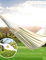 cheap -Camping Hammock Outdoor Breathability Wearable Reusable Adjustable Flexible Folding Nylon PVA for 1 person Hunting Hiking Beach White 200*80 cm Pop Up Design