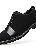 cheap -Men's Summer Daily Sneakers PU Black / Brown / Beige Color Block