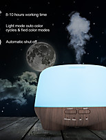 cheap -Essential Oil Diffuser 500ml Remote Control Oil Diffuser Ultrasonic Aromatherapy Humidifier Adjustable Mist Mode 7 Color Changing LED Mood Lights & Waterless Auto-Off