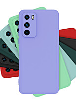 cheap -Case For Huawei Mate 30 Mate 30 Pro Shockproof Back Cover Solid Colored Silicone