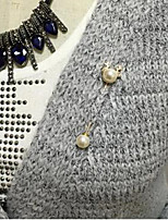 cheap -Alloy Brooches & Pins with Pearls 1 Piece Wedding / Daily Wear Headpiece