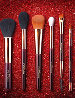 cheap -Professional Makeup Brushes 6pcs Professional Soft Full Coverage Wooden / Bamboo for Blush Brush Foundation Brush Makeup Brush Lip Brush Eyebrow Brush