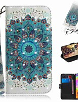 cheap -Case For Samsung Galaxy S20 Galaxy S20 Plus Galaxy S20 Ultra Wallet Card Holder with Stand Full Body Cases Peacock Flower PU Leather TPU for Galaxy A51 A71 A70E A81 A91 A11 A31 A41 A21