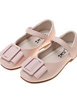 cheap -Girls' Flats Comfort PU Little Kids(4-7ys) White / Black / Pink Summer