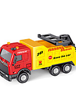 cheap -Construction Truck Toys Pull Back Car / Inertia Car Pull Back Vehicle Police car Dozer Cargo Truck Simulation Drop-resistant Plastic & Metal Mini Car Vehicles Toys for Party Favor or Kids Birthday